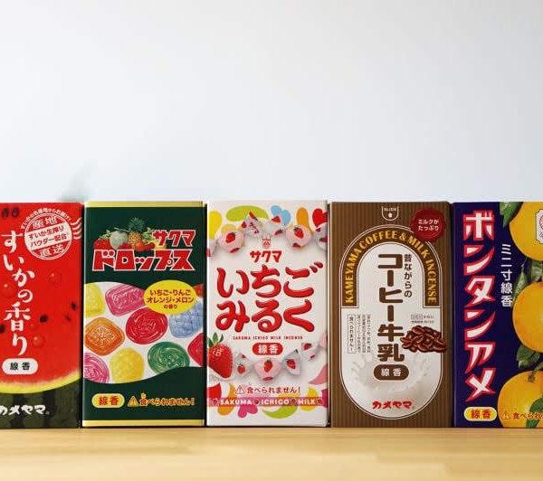 「コラボ線香・好物線香シリーズ」#カメヤマ 商品紹介vol.1